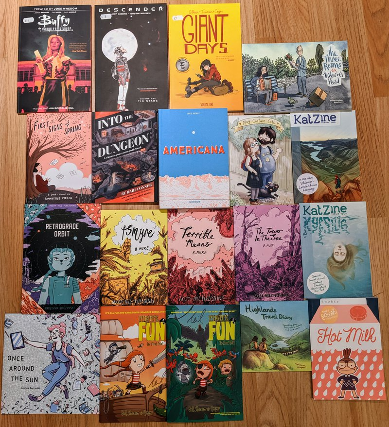 Thought Bubble 2019 haul.jpg